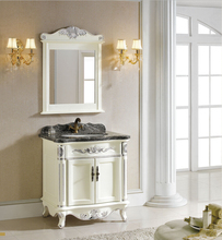 Samdera Bathroom vanity bathroom cabinet bathroom furniture soild wood vanity-8027 sink