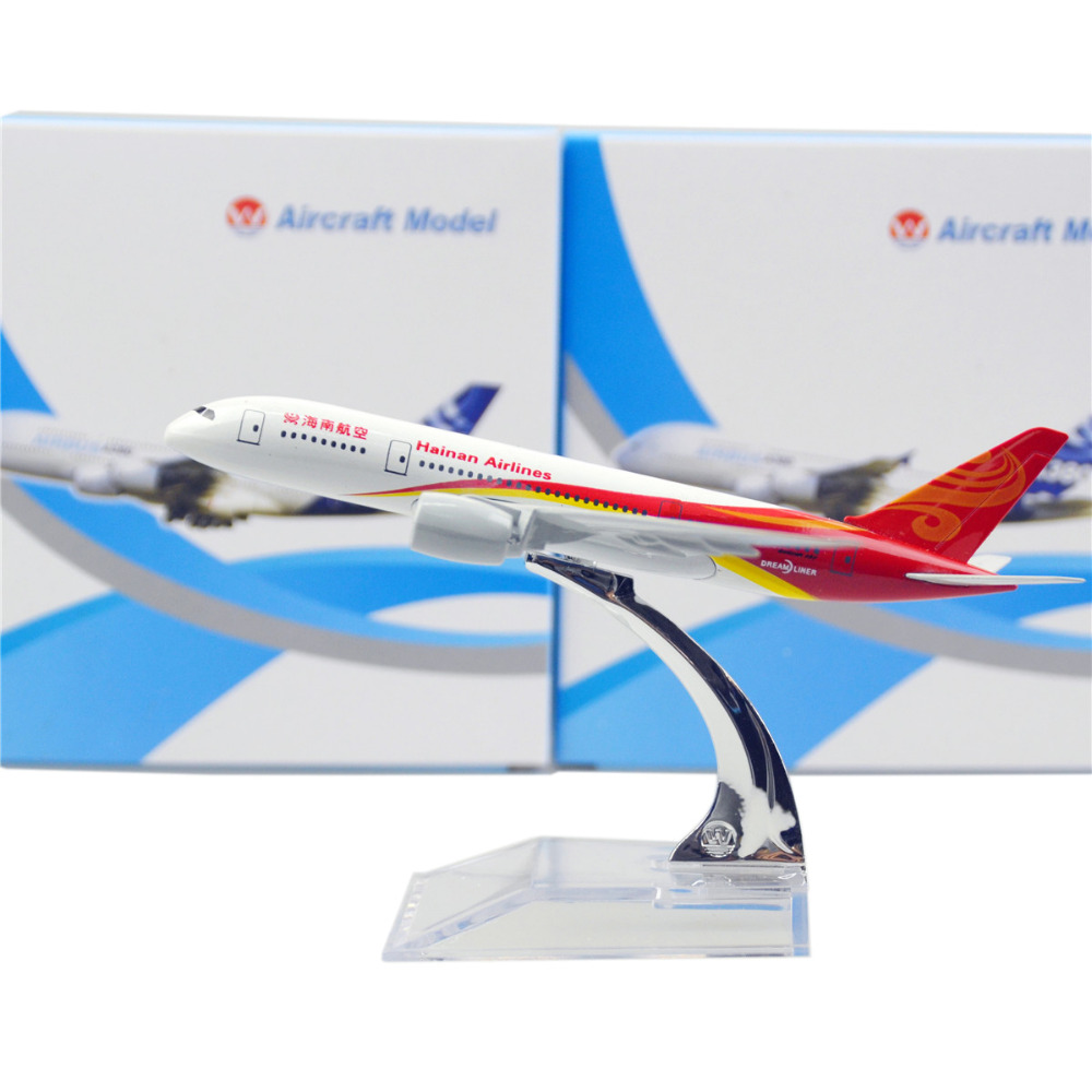 Airlines Hainan Boeing 787 16cm model airplane kits child Birthday gift plane models toys Christmas gift(China (Mainland))