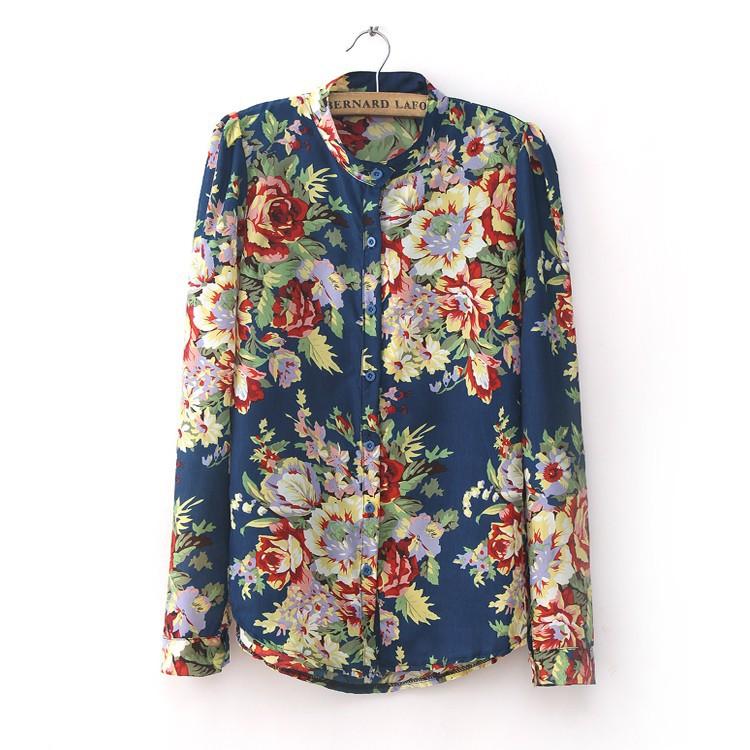 Floral Shirt Womens