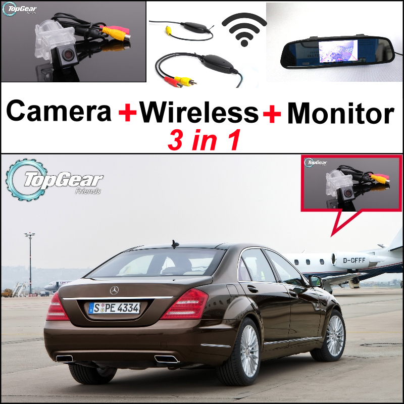 3in1 special wifi camera wireless for mercedes benz s for Mercedes benz s250