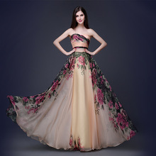 Женщины мода сексуальный без бретелек регулируемый пояс старинные 5XL Большой размер свадебное вечерние знаменитости формальные ну вечеринку длинное платье DH