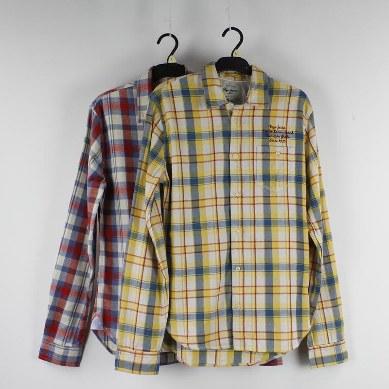 Cotton Jeans Shirts Shirts Autumn Pepe Jeans