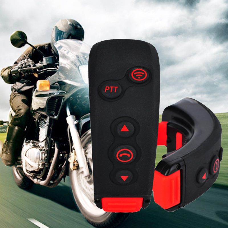 BT Motorcycle Helmet Intercom Headset Remote Control Bluetooth Remote Controller Work With L1 L2 Motorbike Interphone<br><br>Aliexpress