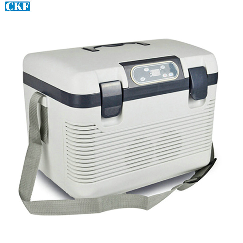 Free DHL Fedex 1pcs/lot Liter Portable Car Cooler Fridge Car Refrigerator Travel Warmer Family mini refrigerator(China (Mainland))