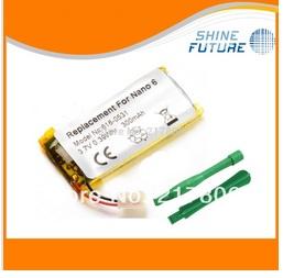 3.7v 300mAh Inner Battery Repair Replacement Flex Ribbon for iPod Nano 6 6th Gen+ 2 Open Tools(China (Mainland))