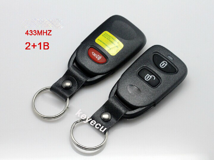 BRAND NEW Remote Key Control Fob 2+1 Button 433MHz For Hyundai Tucson Elantra(China (Mainland))