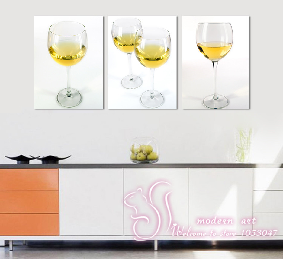 Free Shipping No Frame 3 Panel talking about others so kind and friend wall painting prints Home Decor Modern Picture Printed(China (Mainland))
