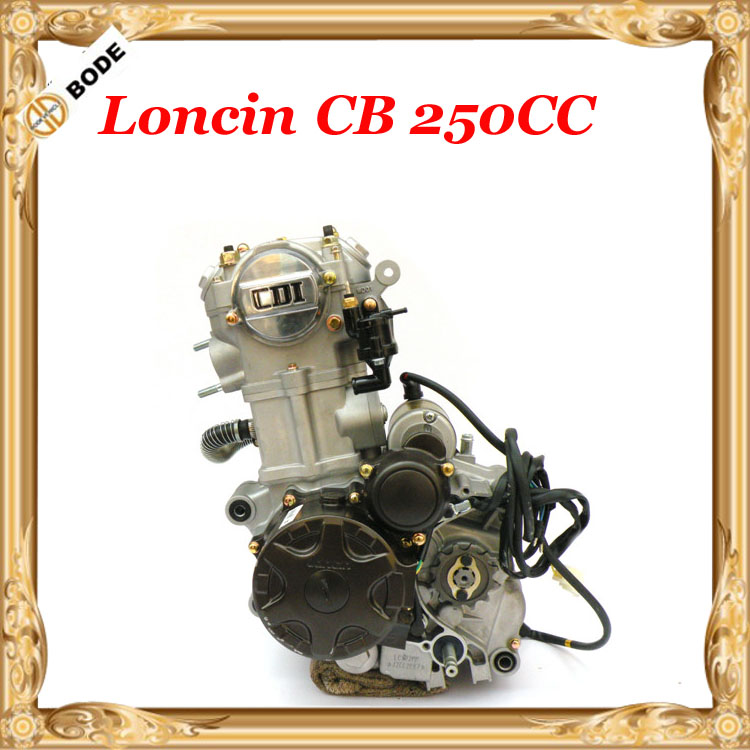 Loncin Lifan 250CC CB Water Cooled Engine Motor for Motorized Motorcycle Dirt Bike(China (Mainland))