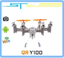 2014 New Walkera QR Y100 FPV Wifi Aircraft UFO RC Quadcopter Drone helicopter with camera brushless motor VS dji pha toy hobbies