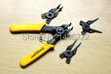 Free shipping good quality Four-in-one multifunction circlip pliers / pliers snap ring pliers pliers card straight outside