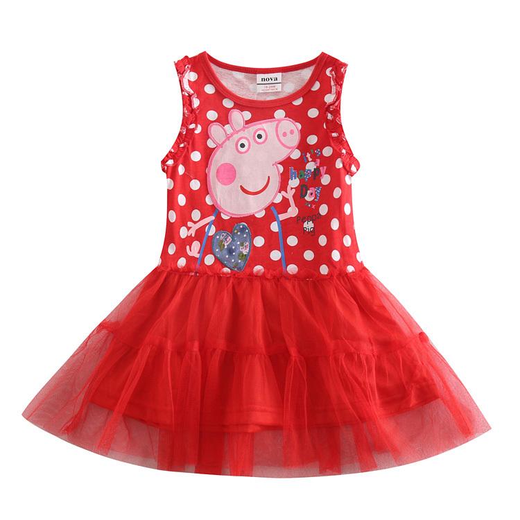 girl dress nova kids brand toddler girl lace dress girl party princess dress for wedding kids clothes summer children clothing(China (Mainland))