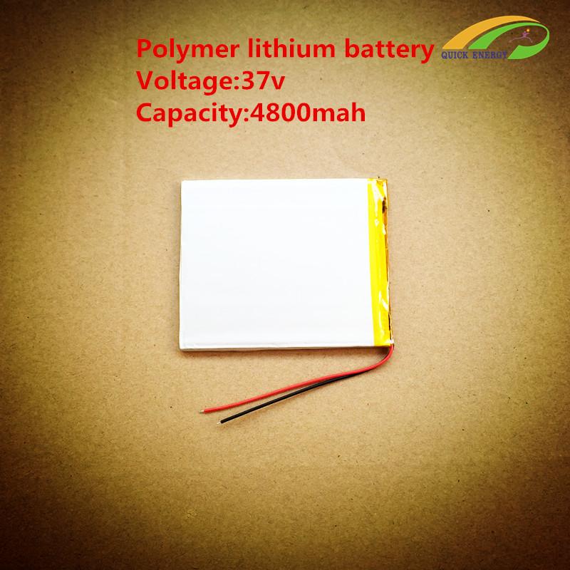 3.7v high capacity li-ion batteries/ 3.7v 4800mah li-ion rechargeable batteries/cheap tablet pc with long battery life 4389103(China (Mainland))