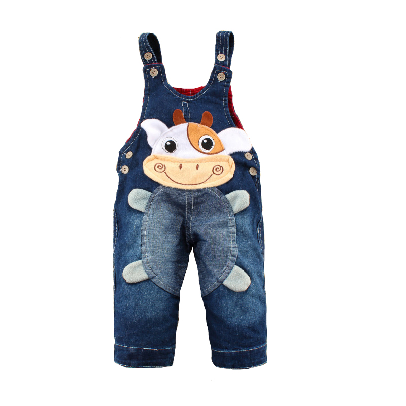 autumn winter baby overalls jeans for girls boys kids boys. Black Bedroom Furniture Sets. Home Design Ideas