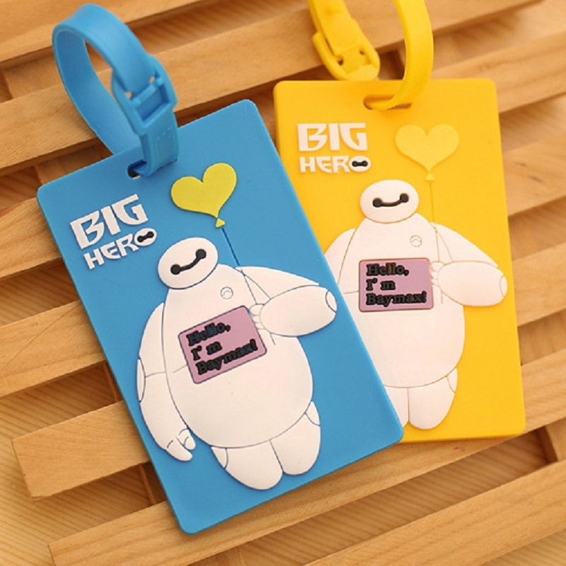 Plastic Luggage Tag Cartoon Travel Luggage Suitcase Baggage Bag Tags Travel bag Boarding Tag Lovely Address Label Name ID Tags(China (Mainland))