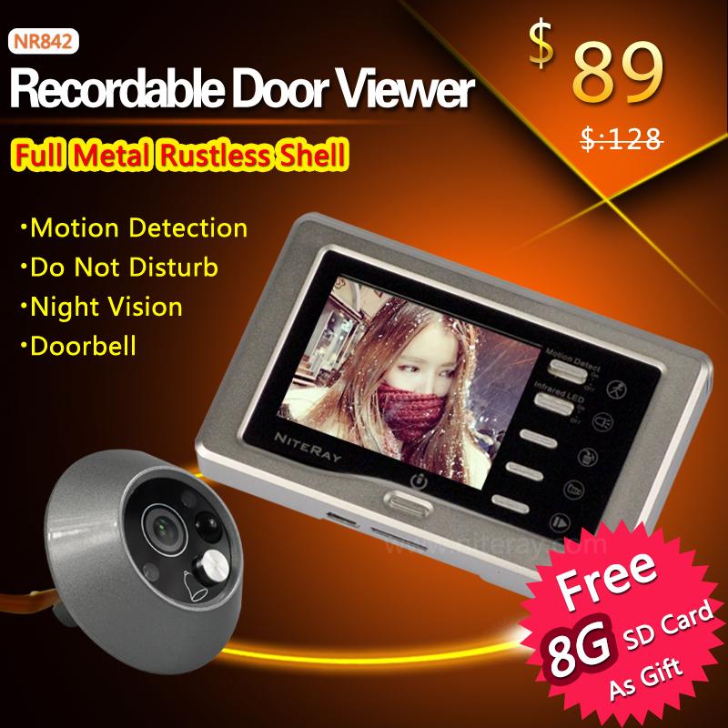 Video Door Camera Digital Peephole Door Viewer Video Peephole Door<br><br>Aliexpress