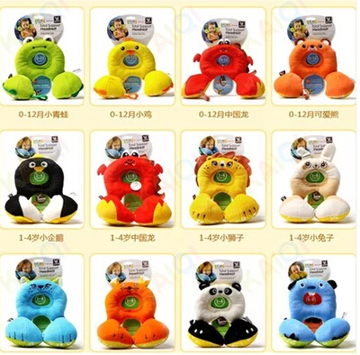hot selling Total Support Headrest Baby Infant Car Travel Sleeping Frog Lion Pillow Head Neck Cartoon Seat Covers For Child<br><br>Aliexpress