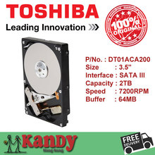 Toshiba DT01ACA200 2TB hdd 3.5 SATA 3 desktop disco duro internal sabit hard disk drive interno hd harddisk disque dur interne(China (Mainland))