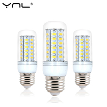 Buy YNL 220V Bombillas LED Lamp Bulb E27 5 24 38 48 56 69LEDs SMD5730 lamparas Lampada de LED High Bright Chandelier Lights for $1.21 in AliExpress store