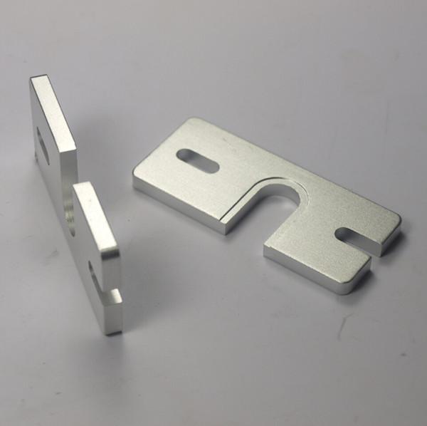 3 D printer accessory Reprap Hot End Aluminum Mount Plate for Makergear J-head or DIY Hot End Prusa oxidation treatment