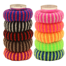 Buy 80pcs/lot Super Thick Elastics Rubber Bands Colorful Child Kids 2016 New Fashion Girls Hair Holders Accessories Tie Gum for $2.99 in AliExpress store