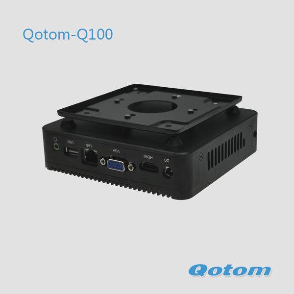 2G RAM,32G SSD,300M WIFI+Bluetooth,mini computers for sale,portable linux mini computer pc.Qotom-Q100(China (Mainland))