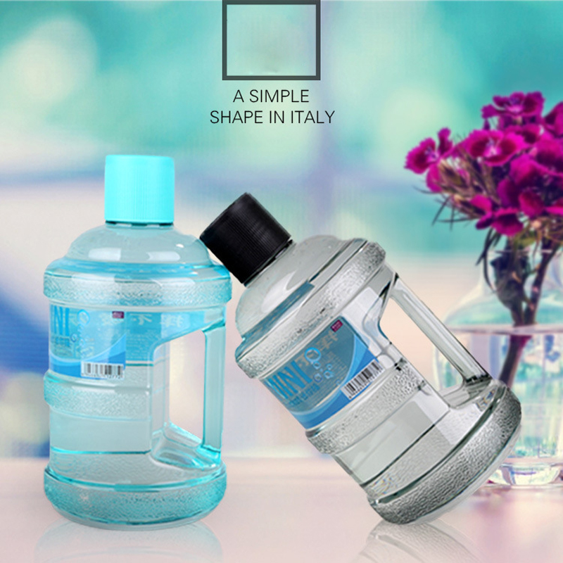 1PC 630ML Mini Bucket Portable Drinking Bottle for Sports Plastic Water Bottle with Handle(China (Mainland))
