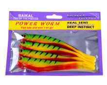 Bionic Fish Bait Lifelike Fishing Soft Lure 13cm 4pcs/pack Artificial Bait Sinking Bait