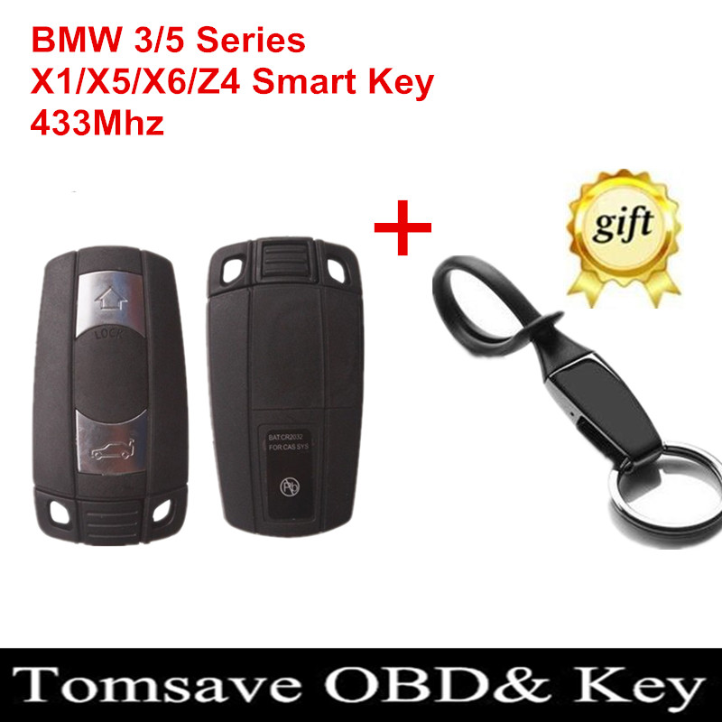 Original Size Car Key bmw 3 Button Smart Card 315Mhz/433Mhz/868Mhz WithTransponder Chip Uncut Remote - Tomtop Save Shop store