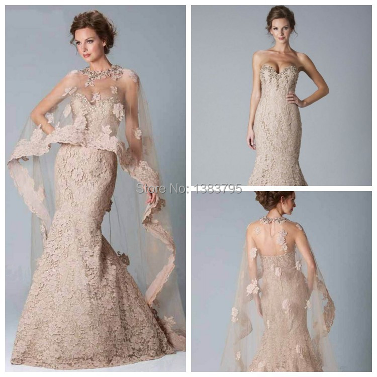 sale sweetheart mermaid dress with jacket bolero