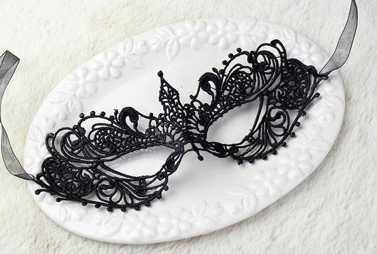 Sexy Black Eye Lace Mask Masquerade Hollow Butterfly Face Mask Fancy Dress Nightclub Wedding Party Dress Ball Mask Supplies(China (Mainland))