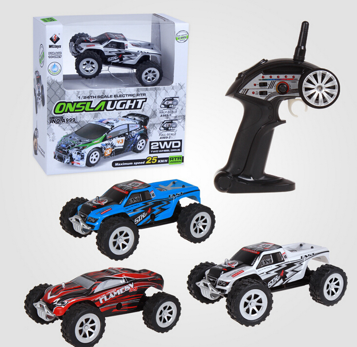 Toy Cars Wltoys A999 1/24 5CH High Speed remote control car double-sided driving RC Racing Car VS carro de controle remoto A979<br><br>Aliexpress