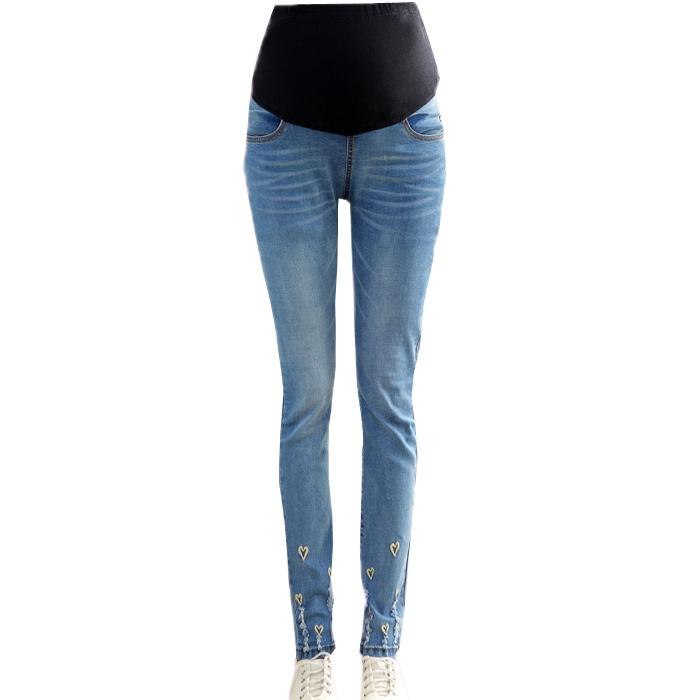 Skinny Denim Jeans For Pregnant Women Maternity Fashion ...