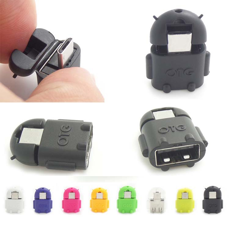 Micro usb OTG adapter for Samsung Galaxy S2/S3/S4,OTG adapter for HTC smartphone(China (Mainland))