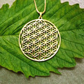 Flower of life pendant to the window Silver Gold plated necklaces pendants for women pendant lot
