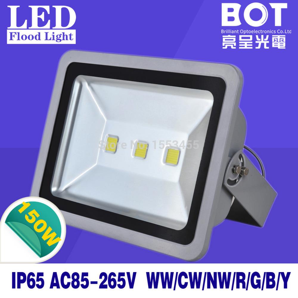 Factory sale!High power 150W 85-265V LED flood light waterproof IP 65 outdoor lighting reflector led floodlight(China (Mainland))