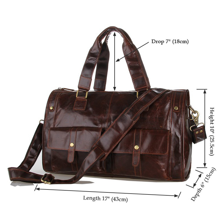 Real Cowhide leather men travel bags vintage man bags genuine leather luggage travel bag shoulder tote men bags new 2014(China (Mainland))