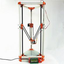 2015 Newest Self-assembly kossel printer Injection Molding parts/all Aluminum k800 3D printer delta printer Reprap(China (Mainland))
