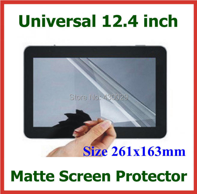 200pcs Anti-glare Matte Screen Protector Universal 12.4 inch 12.4 for Tablet Laptop Notebook PC Protective Film Size 261x163mm<br><br>Aliexpress