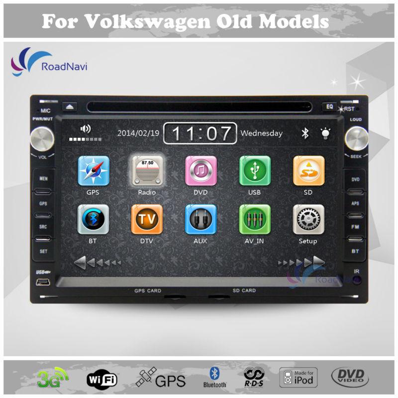 Car Stereo GPS Navigation for VW Volkswagen Polo Passat B5 Jetta Sharan Bora Golf DVD Player Multimedia Headunit Autoradio(China (Mainland))