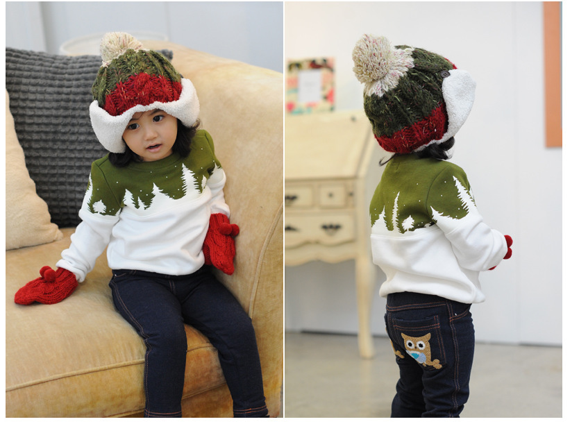 Free Shipping 2015 Family Christmas Cotton Warm Autumn Winter Mother Dad And Kids Long-Sleeve T-shirt Family Clothes Set  HTB1utf.GVXXXXbOaXXXq6xXFXXXW