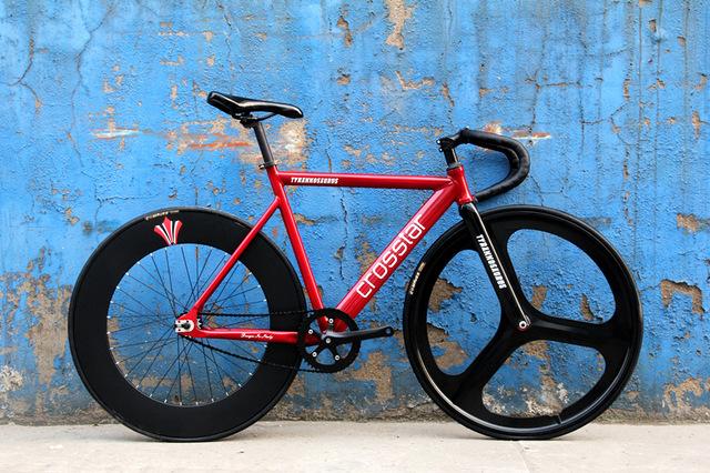700C bike frame 53cm 55cm 58cm TYRANS T2 fixie Aluminum Alloy FRAME+Carbon Fiber FORK fixed gear bike fixie(China (Mainland))