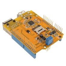 1Pc Low Power Consumption Yun Shield V2.4 All-in-one Shield For Arduino UNO For Leonardo For Mega2560 Linux WiFi Ethernet USB(China (Mainland))