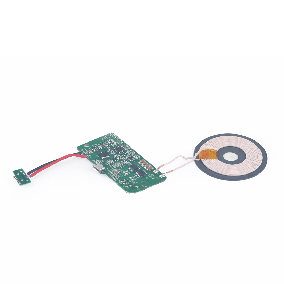 High Quality DIY Raw Material PCBA Motherboard Wireless Charging Single Transmitting Coil For Wireless Charger Transmitter Plate(China (Mainland))