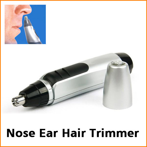 Hot Sell! Cheap Electric Nose Ear Face Hair Trimmer Shaver Clipper Cleaner(China (Mainland))
