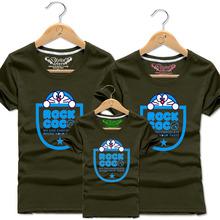 Anime Men Women Boys Girls Family Matching Clothes Cotton T Shirt Kids Doraemon Tee Children Cartoon Summer O-neck T-shirt Tops