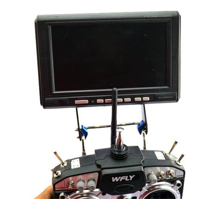 2015 New FPV Screen Display TFT Monitor Holder Support Stand Bracket f DJI Phantom Futaba UAV Accessories BOB138(China (Mainland))