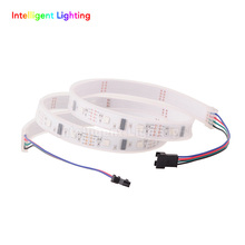 1M 32LEDs/M Pixels LPD8806 LED Strip Light individually Addressable separately control Waterproof in silicon tube SMD 5050 5V(China (Mainland))