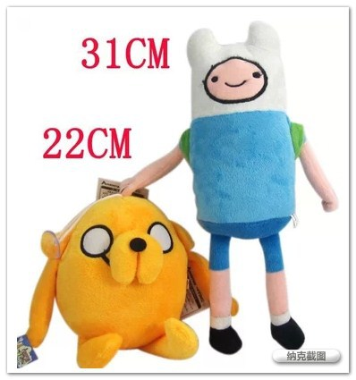 Anime Adventure Time Finn Jake Plush Doll soft figure Toys Stuffed animals Movice Cartoon Toy toys children - Blue Angel International Trade Co., Ltd. store