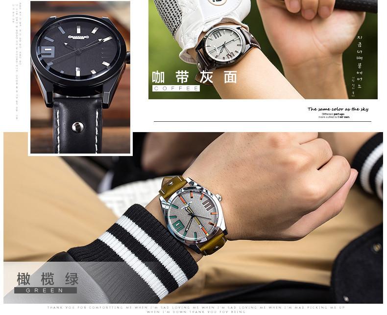 Юлий Homme мужские наручные часы кварцевых часов топ мода ретро платье браслет кожаный именинник рождество валентина подарок 089