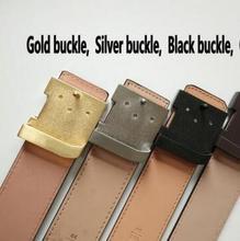 2016 L luxury fashion brand belt men's mc belts  men designer belt men high v  quality genuine  leather belts for women and men(China (Mainland))